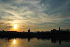 Atardecer en Málaga, Puestas de sol