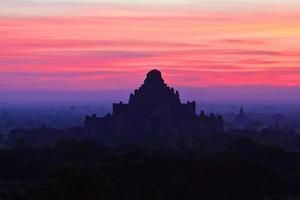 zona arqueológica de bagan, myanmar