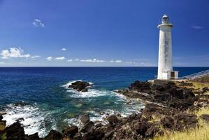 Lighthouse at Vieux-Fort, Guadeloupe photo