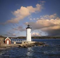Portsmouth Harbor Lighthouse in New Castle, NH photo