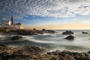 Lighthouse in Cabo Raso, Cascais photo