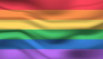 fundo de bandeira de orgulho de arco-íris vetor