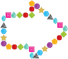 Diamond layout arrow png