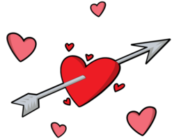 Heart arrow png