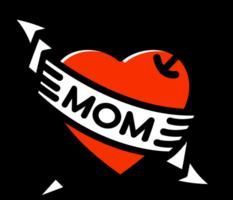 tatuaggio mamma cuore