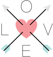 Love arrow png