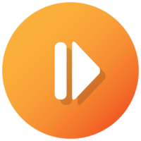 Orange Forward Button
