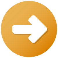 Orange Arrow Button