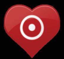 Herzsymbol Ziel