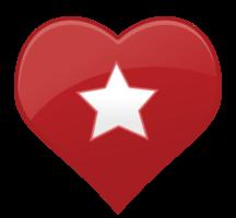 Herz Symbol Stern