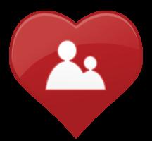 hart pictogram mensen