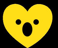 coeur emoji halètement
