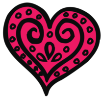 Heart sketch png