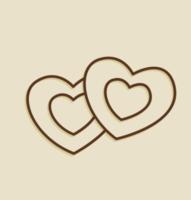 coeur ouline png