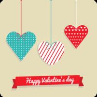 cartolina di San Valentino cuore