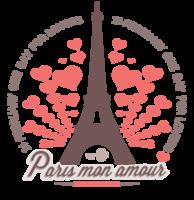 Paris valentines's with heart