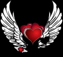 corazón con ala