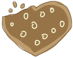 galleta del corazón