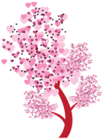arbre des coeurs