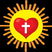 Die Sonne des heiligen Herzens brach aus png