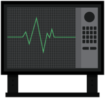 monitor de corazón