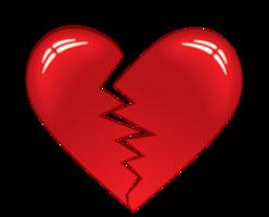 hart gebroken