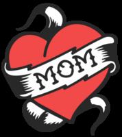 hart moeder tatttoo