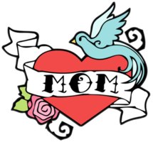 Heart mom tatttoo