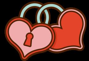 cuore di nozze bloccato