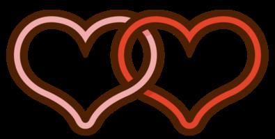 Herz Hochzeitspaar