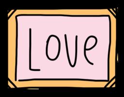 marco de amor png