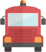 camión de bomberos png