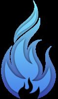 blauw vuur