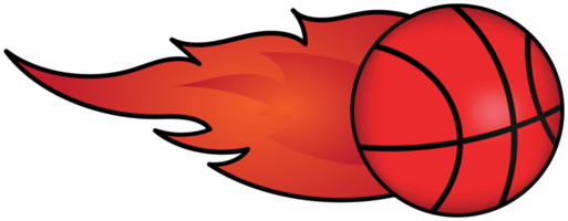 basketbal in brand