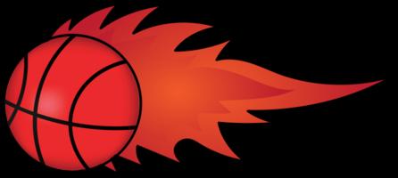 basketbal in brand