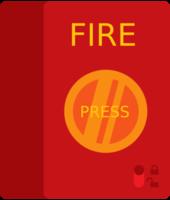 bouton pompier
