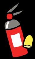 extintor de incendios png