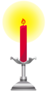 candelabro in fiamme png