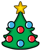 Christmas decoration tree png