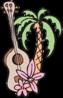 Hawaiiaanse ukelele png