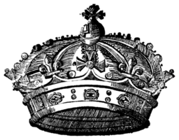 corona araldica png