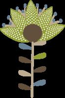 Flower retro png