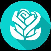 icono de flor png