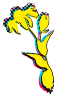 graffiti grunge fiore
