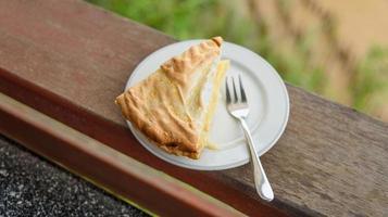 pastel de coco foto