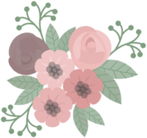 Pink flower png