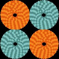 cirkel stip patroon