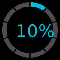 cerchio precarico 10%