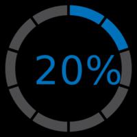 cerchio precarico 20%
