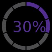 cerchio precarico 30%